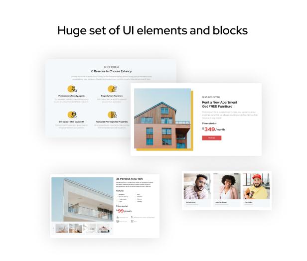 Estancy - Real Estate HTML5 Template, Property Portal - 1