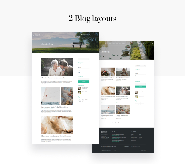 Eternity - Funeral Services HTML5 Theme - 7