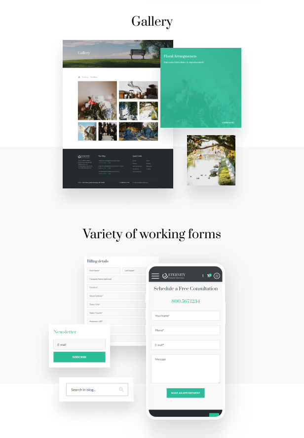 Eternity - Funeral Services HTML5 Theme - 8