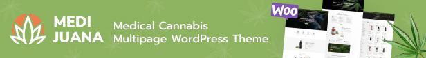 Medijuana - Marijuana Store HTML5 Template - 1