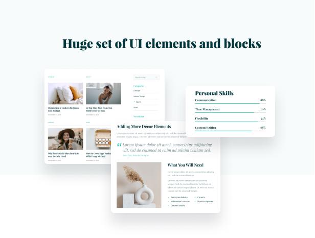 Moli - Personal Blog HTML 5 Template - 4