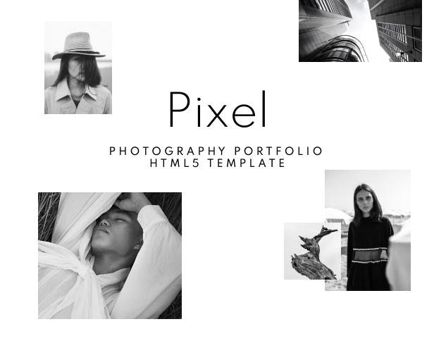 Creative Photography Portfolio HTML Template