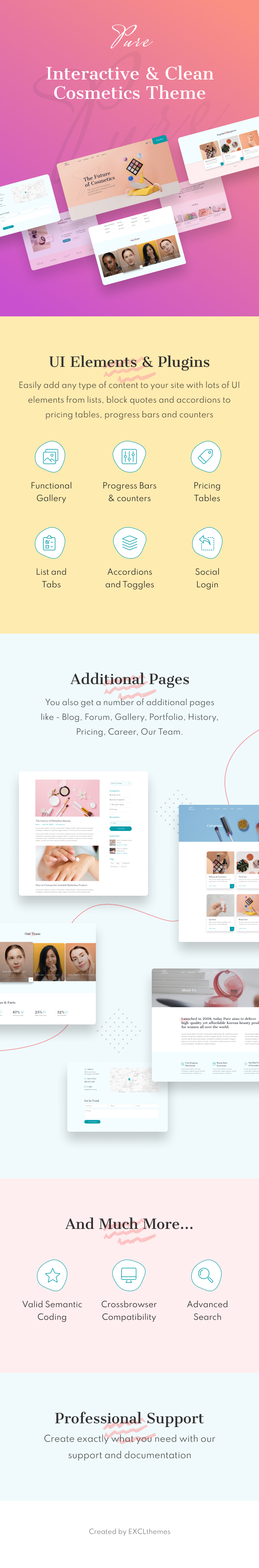 Pure - Beauty Salon Joomla Template